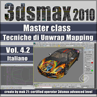 Video Master Class 3dsmax 2010 Volume 4.2 italiano_cd front