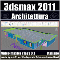 3dsmax 2011 Architettura v.3.1 Italiano Subscription