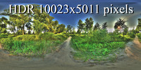Landscape hdr 3D Texture