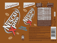 Nescafe Xpress Original Label