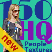 NEW 150 people textures vol.2