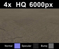 Asphalt road tiles collection - Hi Res Set