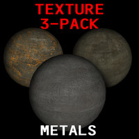 Metal Base Texture 3-Pack