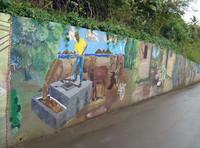 Tortola Mural