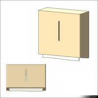 Paper Towel Dispenser Wall Mount 01122se