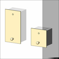 Soap Dispenser Wall Recessed 01207se
