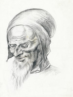 portrait of old man 2