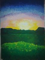 paysage paint