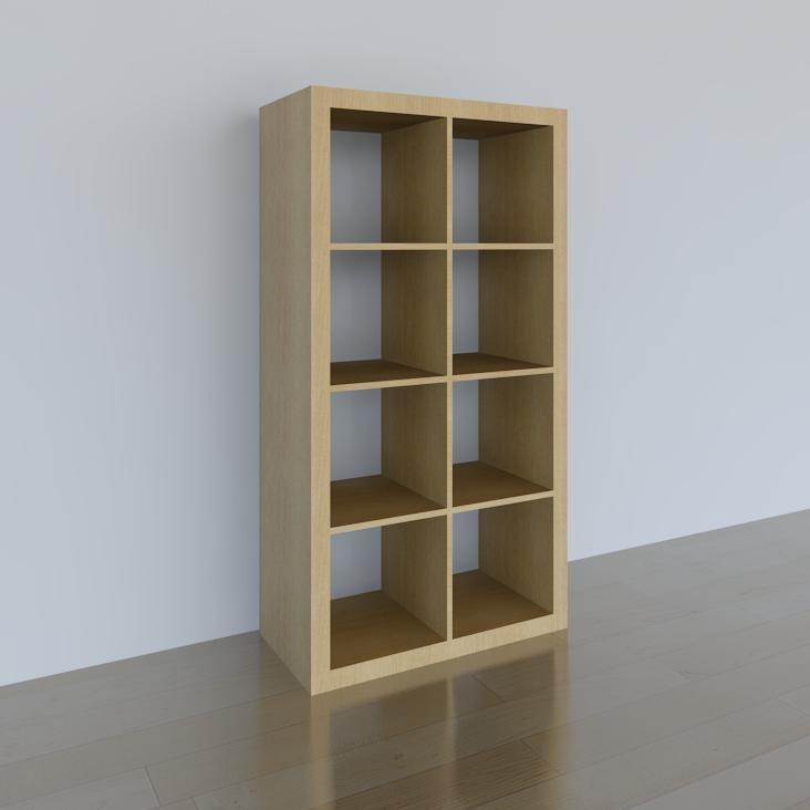 Building rfa ikea expedit bookshelf for Ikea expedit 2 x 1