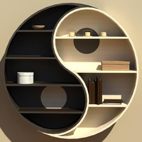 Bookshelf_Yin&Yang