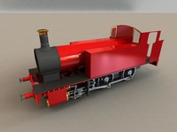 3D Steam Locomotive Construction