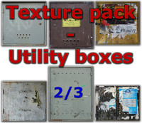 Electric utility boxes - texture pack - 2/3