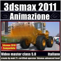 3dsmax 2011 Animazione v.5.0 Italiano cd front