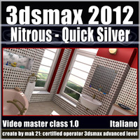 3dsmax 2012 Nitrous e Quick Silver v.1.0 Italiano Subscription