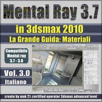 Mental Ray 3.7 In 3dsmax 2010 Vol.3 Italiano