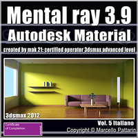Mental Ray 3.9 In 3dsmax 2012 Vol.5 Italiano Subscription
