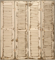 Old Painted Shutters Texture