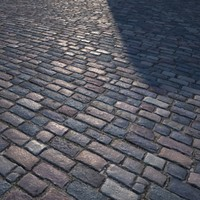 HQ Textures - Cobbled Road