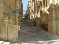 Malta Island Valetta Streets