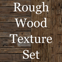 Rough Hewn Tileable Wood Texture Set