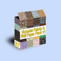 Victorian Wall Paper Pack 1