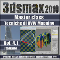 Video Master Class 3dsmax 2010 Volume 4.1 italiano