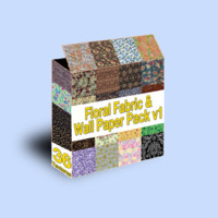 Floral Fabric Pack 1
