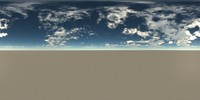 Panoramic HDR Sky