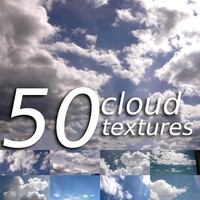 50 cloud photos/textures