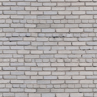 Old white bricks