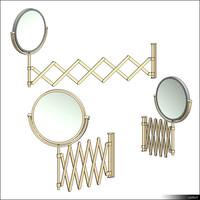 Makeup Mirror Wall Mount 01217se