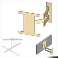 TV Wall Bracket 01228se