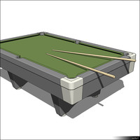 Billiard Table 01239se