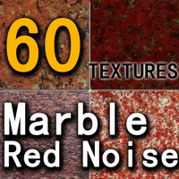 03 Marble Red Noise