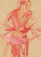 red ballerina no.2