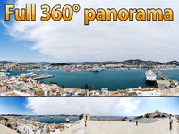 Ibiza Fortress 1 - 360° panorama