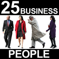 25 Business People Textures - v4