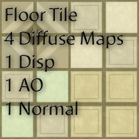 Floor Tile 4 Pack