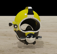 Modern Diving Helmet