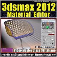 3dsmax 2012 Material Editor_v.16 italiano_cd front