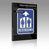 Restroom Signs Texture Pack
