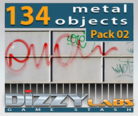 DLMET Metal Objects Pack 02