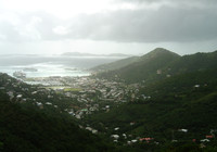 Tortola Mountain Top
