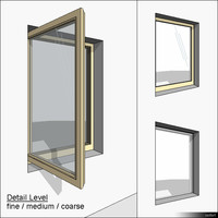 Window Casement Single 01290se