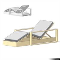 Deckchair 01355se
