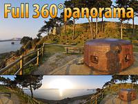 Fortress of St. Malo - 360° panorama