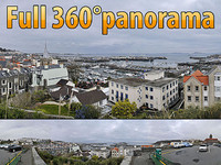 Outlook of St. Peter Point - 360° panorama
