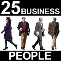 25 Business People Textures - Vol. 1