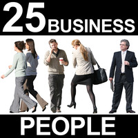 25 Business People Textures - Vol. 2