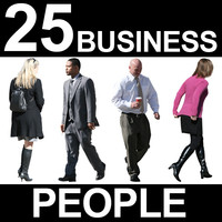 25 Business People Textures - v6